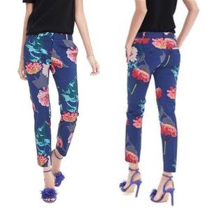 Banana Republic Pants - {Banana Republic} Floral Print Avery Fit Crop Pant